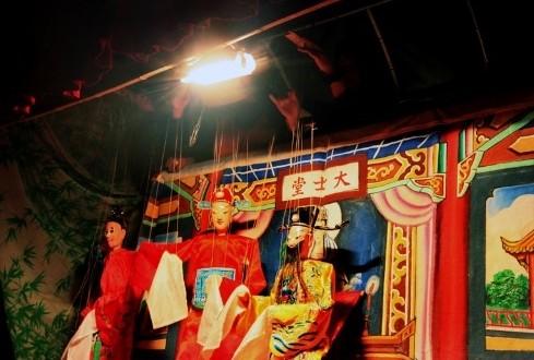 南靖提线木偶戏