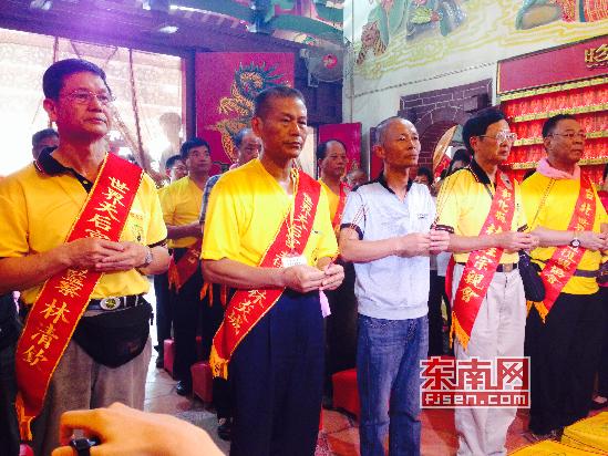 妈祖神像分灵到漳州水月亭 架起两岸交流桥梁
