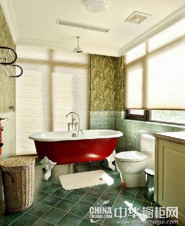 浴缸装修效果图 高贵