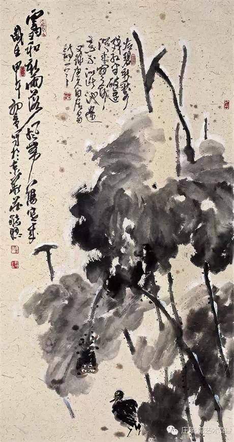 庄毓聪大写意花鸟画作品即将亮相中国美术馆