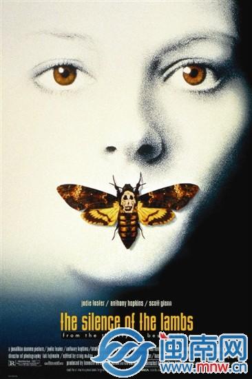 漳州惊现鬼脸天蛾 在电影《沉默的羔羊》海报上出现过